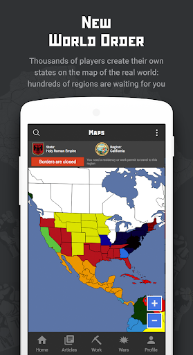 Rival Regions: world strategy of war and politics apkpoly screenshots 1