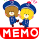 待受にメモ帳「がんばれ!ルルロロ」かわいいメモ帳ウィジェット - Androidアプリ