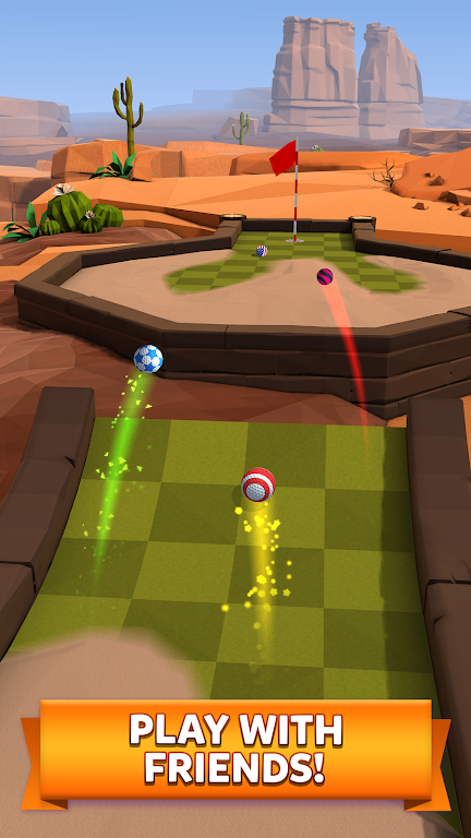 Golf Battle poster 1