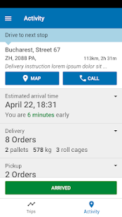 ORTEC Delivery Driver