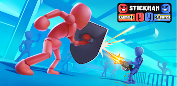 Jouez à Stickman Ragdoll Fighter sur PC, le tour est joué, pas à pas!