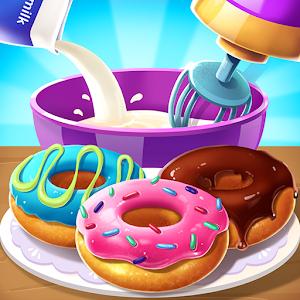 Make Donut  Interesting Cooking Game