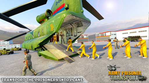Army Prisoner Transport: Truck & Plane Crime Games  Screenshots 9