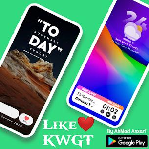 Like ❤️ KWGT (MOD, Paid) v6.0 4