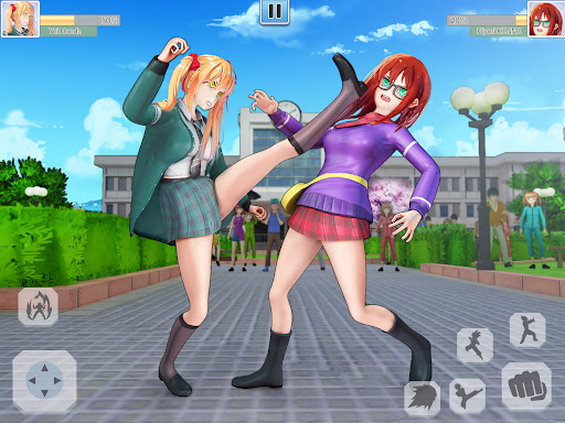 High School Bully Gang: Karate Fighting Game  screenshots 8