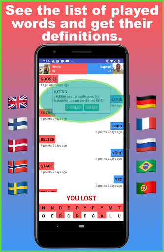 Battlexic - Strategic Words Search With Friends 4.6.5 screenshots 4