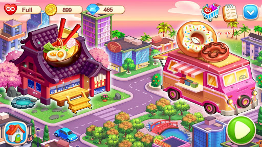 My Restaurant: Crazy Cooking Madness & Tile Master 1.0.10 screenshots 8