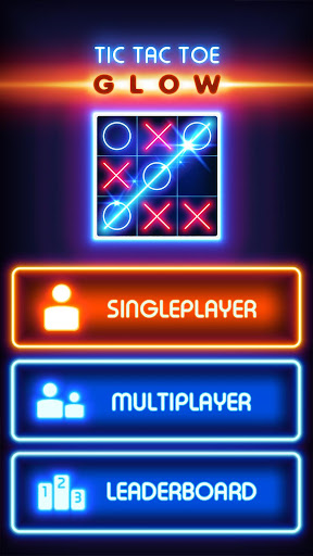 Tic Tac Toe Glow 8.4 screenshots 1