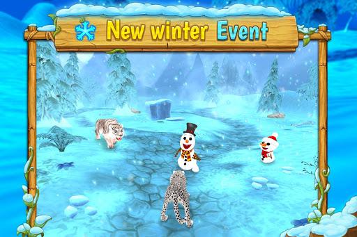 Cheetah Family Sim - Animal Simulator apktram screenshots 6