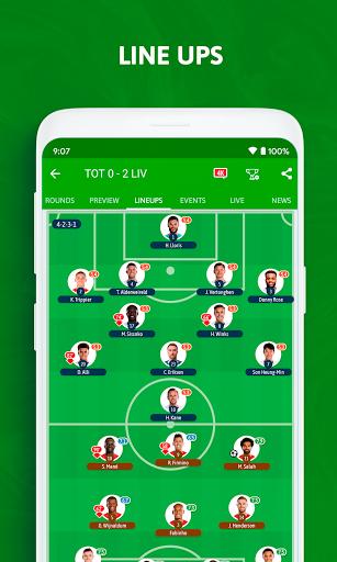 BeSoccer - Soccer Live Score 5.2.2.1 Screenshots 3