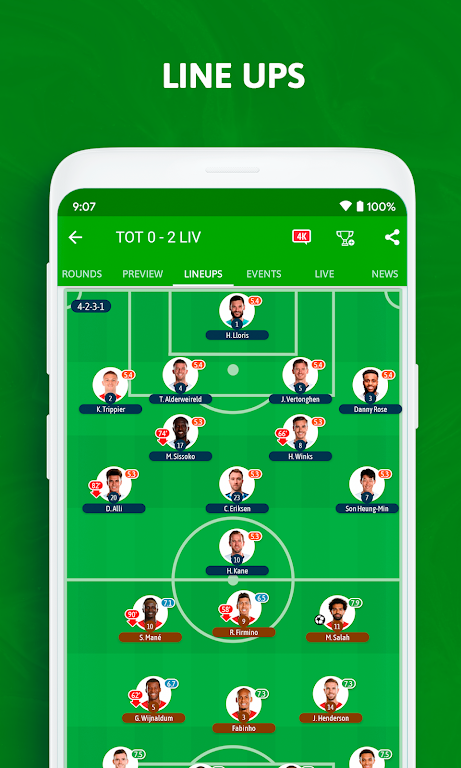 BeSoccer - Soccer Live Score  poster 2
