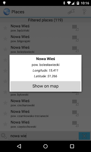 Meteo - meteo.pl reader 1.9.1 Screenshots 4