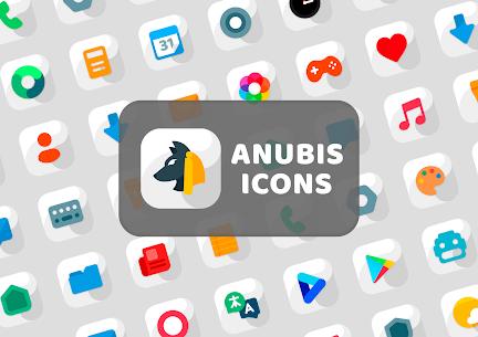 Anubis White – Icon Pack 1.3 Apk 1