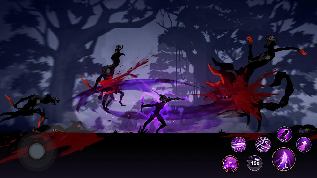 Shadow Knight: Ninja Assassin Epic Fighting Games poster 1