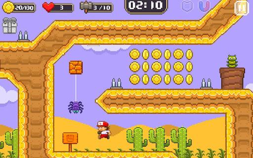 Super Jim Jump - pixel 3d 3.6.5026 screenshots 11