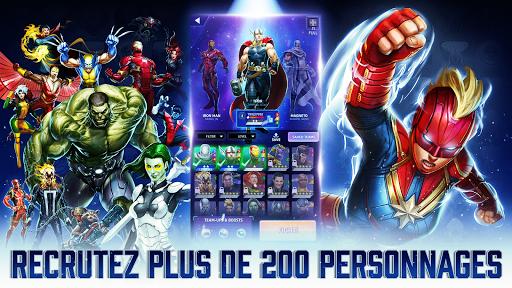 Code Triche MARVEL Puzzle Quest : bataille des Super Héros ! APK MOD (Astuce) screenshots 1