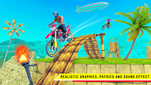 Stunt Bike 3D Race - Bike Racing Games apkpoly screenshots 2