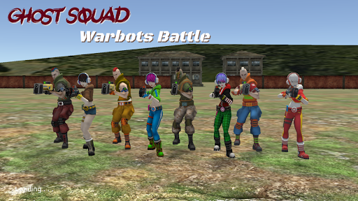 Ghost Squad: Warbots Battle screenshots 17