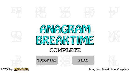anagram breaktime complete screenshot 3