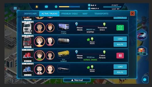 Virtual Truck Manager 2 MOD (Free Stuff) 3