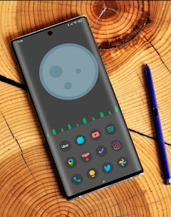Black Pie APK- Icon Pack (PAID) Free Download Latest 1