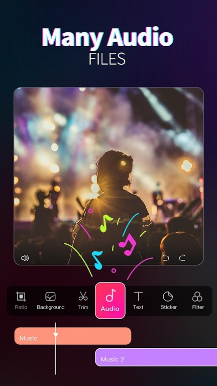 Magic Video Maker - Video Editor with music  poster 6