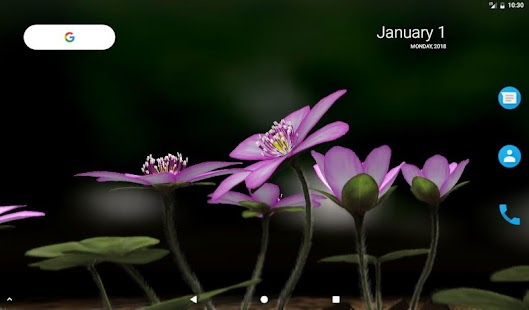 Yukiwarisou 3D Live Wallpaper Pro Screenshot