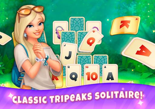 CityMix TriPeaks Solitaire! New Classic Card Games  screenshots 17