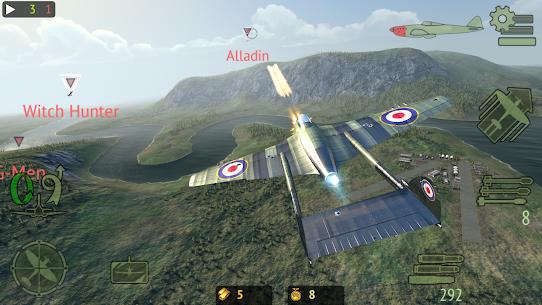 Warplanes: Online Combat Mod Apk 1.3.1 (Unlimited Gold) 3