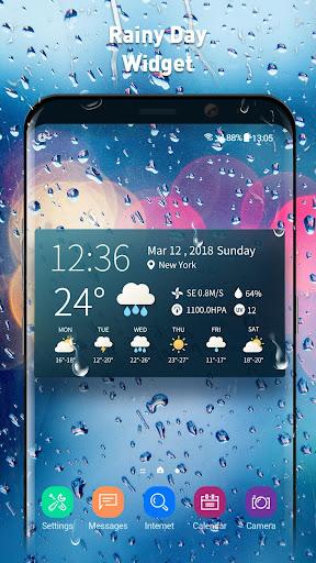 real-time weather temperature report & widget screenshot 2
