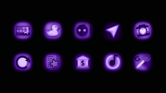 Ultraviolet – Stealth Purple Icon Pack v1.9 (Patched) 2