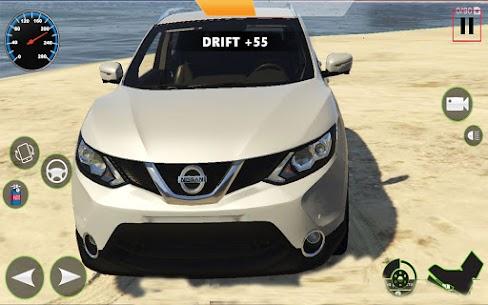 Araba Simülatörü 2021 : Qashqai Drift ve sürücü Apk İndir 1