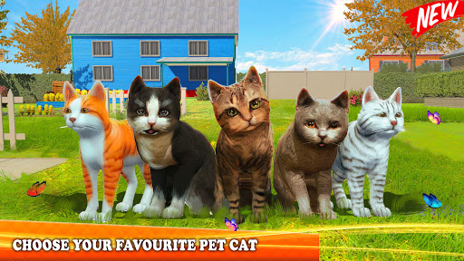 Pet Cat Simulator Family Game Home Adventure 1.5 screenshots 7