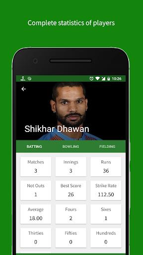 Cricket Scorer 2.9.0 Screenshots 4