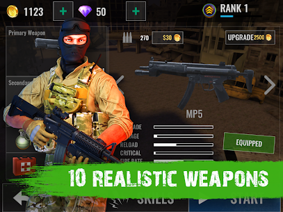 Zombie Shooter Hell 4 Survival Mod Apk (UNLIMITED REWARD GOLD) 7