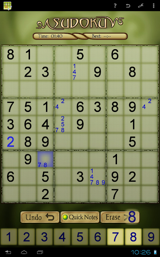 Sudoku Free 1.52 screenshots 9