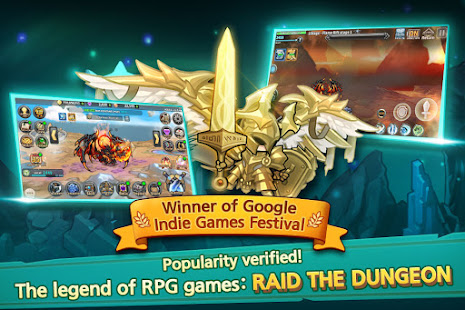 How to hack Raid the Dungeon : Idle RPG Heroes AFK or Tap Tap for android free