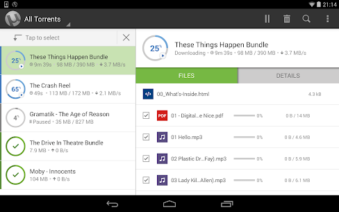 Download Utorrent Pro Apk Torrent App 6.5.7 Apk For Android+Mod [Paid] 6