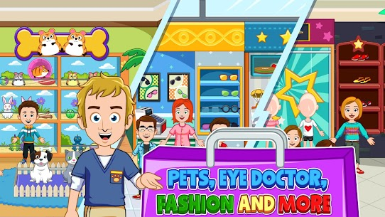 My Town: Shopping Mall – Shop & Dress Up Girl Game 4