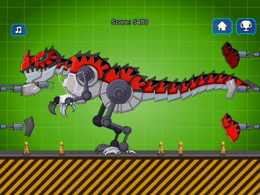 Red T-Rex Robot Dinosaur 2.5 screenshots 6