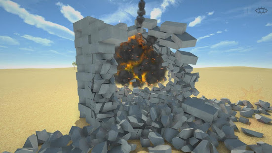 Destruction simulator: physics demolition sandbox 0.3.9 screenshots 2