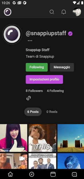 Snappiup - Social Media Sharing screenshot 3