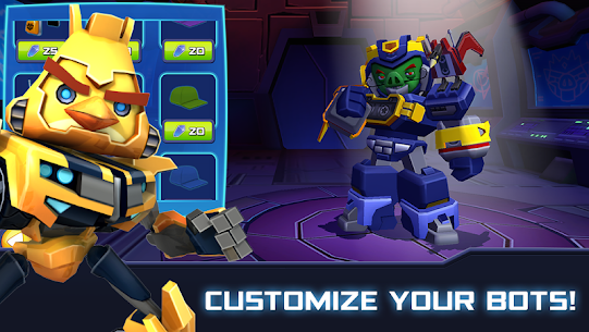 Angry Birds Transformers MOD APK [Unlimited Money/Coins/Unlocked] 2