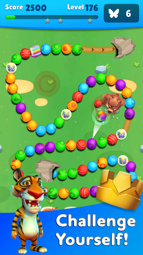 Marble Wild Friends - Shoot & Blast Marbles apkmr screenshots 16