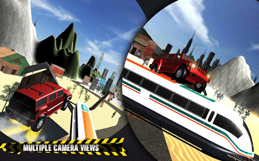 Train vs Prado Racing 3D: Advance Racing Revival modavailable screenshots 4