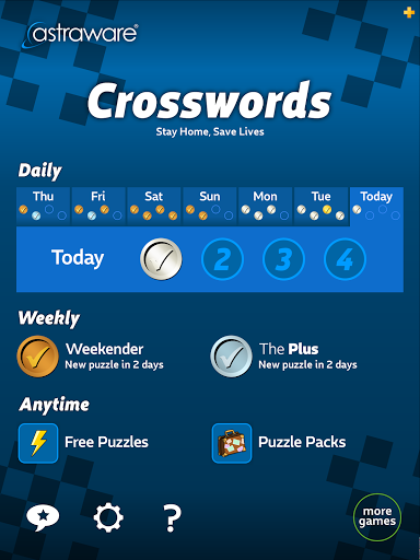 Astraware Crosswords 2.39.009 screenshots 9