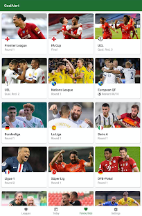 GoalAlert - The fastest football app Screenshot