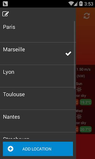 Weather France 1.0.1 Screenshots 3