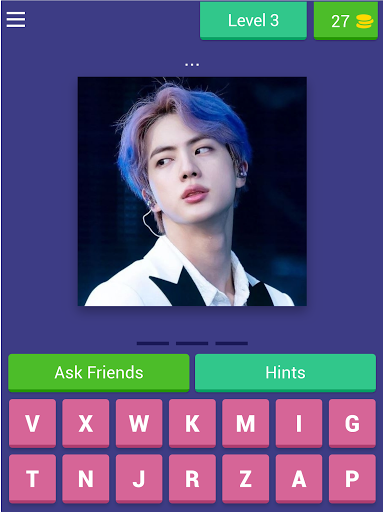 BTS ARMY - word quiz game 2020 android2mod screenshots 11