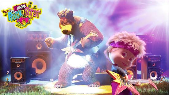 Masha and the Bear: Music Games for Kids 1.0.8 screenshots 1